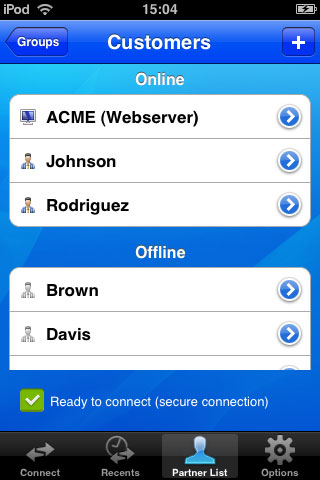 en iphone partnerlist TeamViewer: Effortless remote PC control from your iPhone