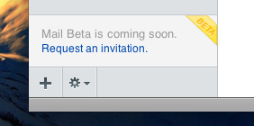 MobileMe Beta Invite-Button