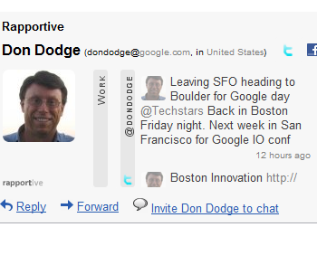 Rapportive Google Apps Screenshot -- Don Dodge-1