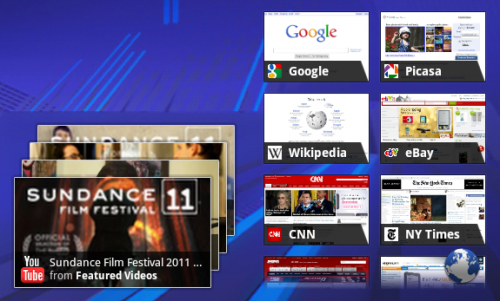widgets 500x301 Google Drops Android 3.0 SDK Preview, Teases Screenshots