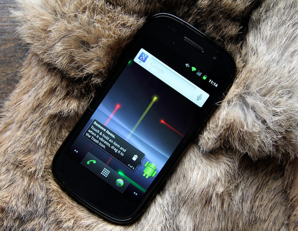 Google rolls out Gingerbread update to Nexus S and Nexus ...