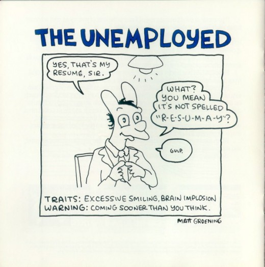 UfDuD 520x524 Its 1989. The Simpsons creator Matt Groening is drawing for Apple Computer.