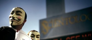 Anonymous vs. Scientology.