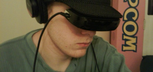 Guy with a Head-Mounted Display