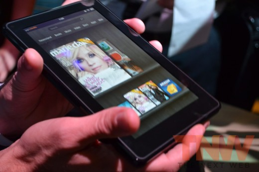 tnw22 520x346 Hands on with Amazons new Kindle e readers and Kindle Fire tablet [High Res Images]
