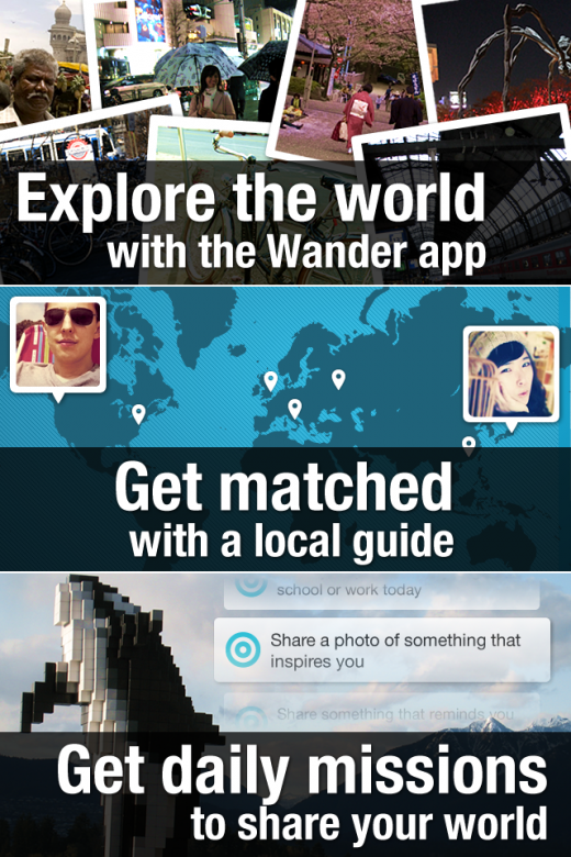 0 intro 520x780 Wander: The story of an app that failed, then succeeded in connecting the world
