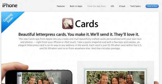 Convofy 69 520x270 Apple reveals new details about its Cards App
