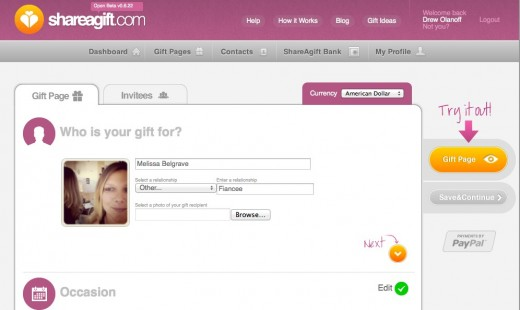 Convofy 77 520x310 Shareagift is easy group gift buying for any occasion