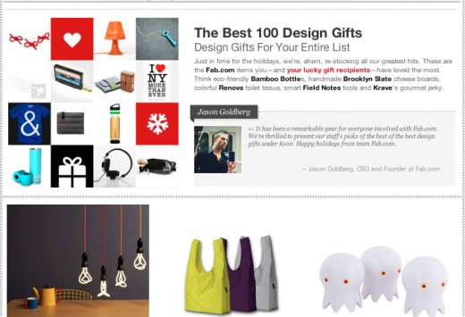 Fab holiday shop 520x355 After an explosive year, Fab.com sets up shops for the holiday season