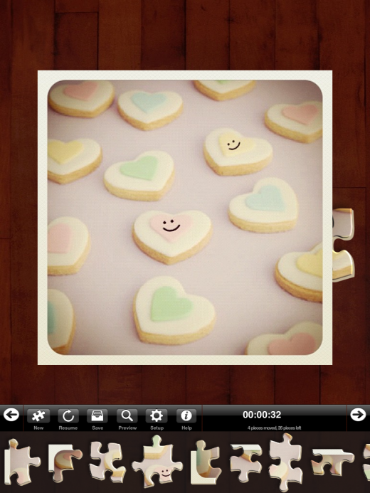 IMG 0073 520x693 Instapuzzle for iPad turns popular Instagram photos into a puzzle