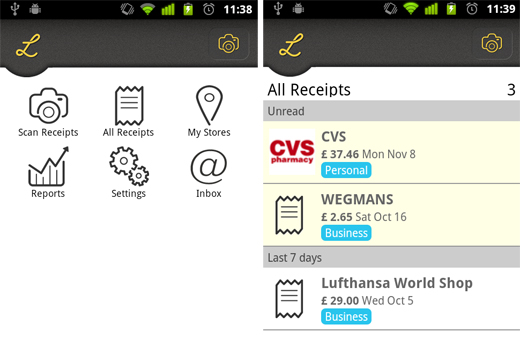 Lemon2 Store your receipts online and keep track of your budget with Lemon