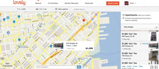Lovely 520x228 Lovely wants to help you find the perfect apartment, without the hassle