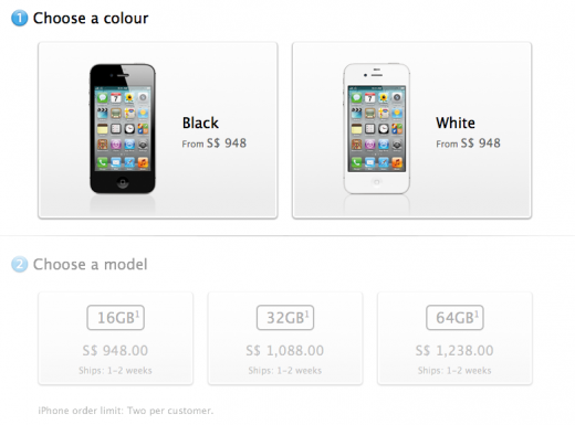 Screen Shot 2011 10 21 at 13.37.07 520x385 Apple opens iPhone 4S preorders in additional launch countries