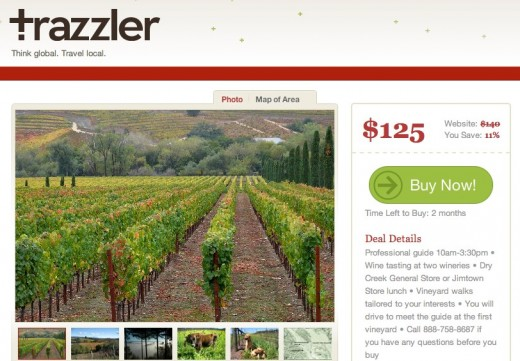 Sonoma Vineyard Walks in Sonoma California 1 520x361 Biz Stones Trazzler gives you recommendations on local places to visit based on photos