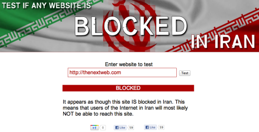 TNW Iran WTF? Why is TNW blocked in Iran?
