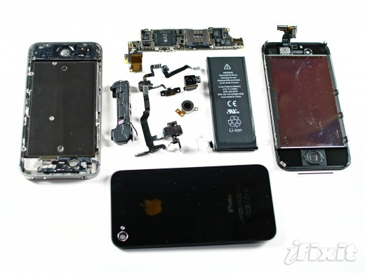 hhI6JAA2SRwG2WSp 520x389 iPhone 4S teardown: 512MB of RAM, bigger 5.3 WHr battery and an upgraded vibrator