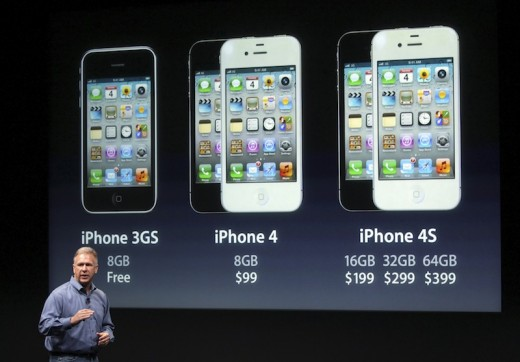 philip schiller apple s senior vice president of w 4e8b5887d4 520x362 Apples disappointing iPhone 4S is on track to be its fastest selling device ever