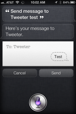photo 314 Use Siri to update Twitter and Facebook from your iPhone 4S with your voice