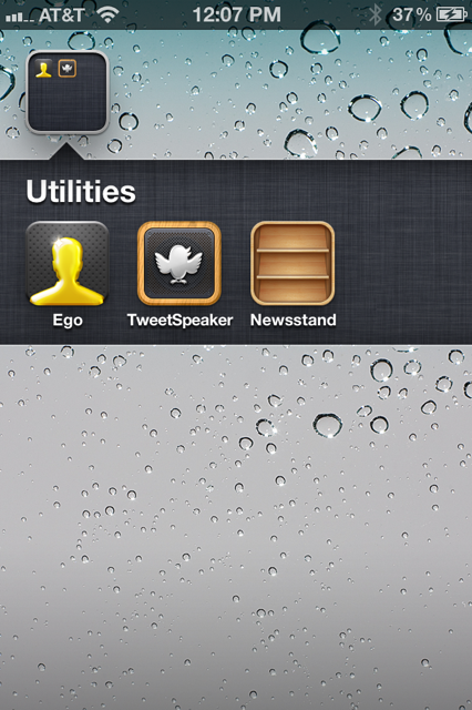 photo 65 Dont use Newsstand on iOS 5? Heres how to put it in a folder