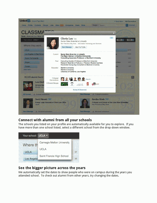 viewer3 520x672 LinkedIn gets into the Alumni game with new Classmates feature