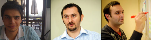 vladimir alexandru adam 3 Eastern Europe startup Young guns on the regions huge potential