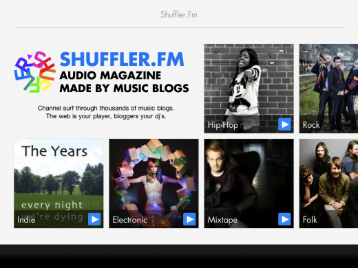 78787 image 6 original 1317382421 520x390 Shuffler.fm launches Flipboard style app for music discovery on the iPad