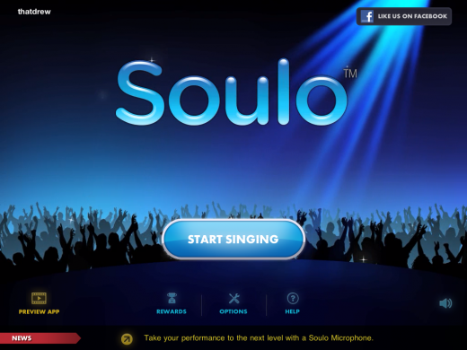 IMG 00881 520x390 The Holiday Shopping Stops Here, Soulo For iPad is a Karaoke Dream