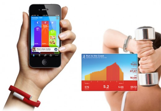 Jawbone UP 520x359 Jawbones UP wristband and iPhone app available Nov. 6th for $99