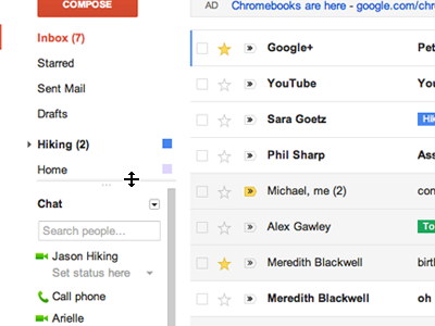 control New Gmail is officially here! Brings HD themes, better density, search and navigation