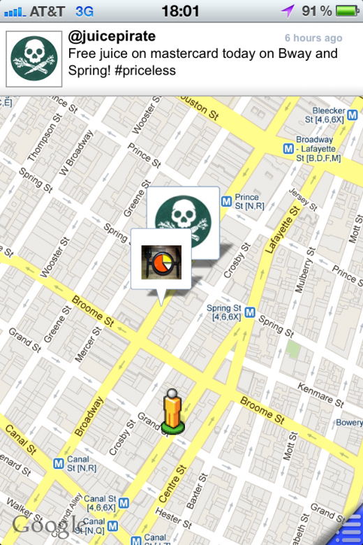 photo 21 520x780 NYC Food Trucks are on the run. Find them with the Tweat.it app