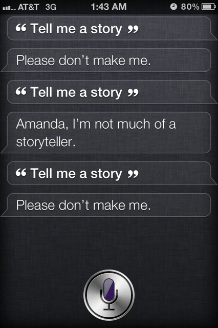 photo 1 This is how to get Siri to tell you a story [Pics]