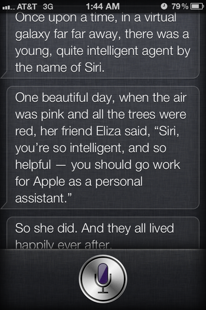 photo 2 This is how to get Siri to tell you a story [Pics]