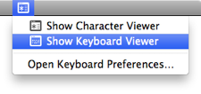 show keyboard viewer How to master the keyboard on Mac OS X: A comprehensive guide