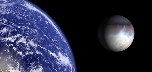 Earth and Triton.
