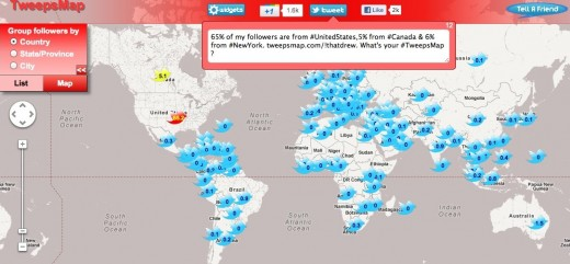 Convofy 741 520x241 Where in the world are your Twitter followers from? This app will show you