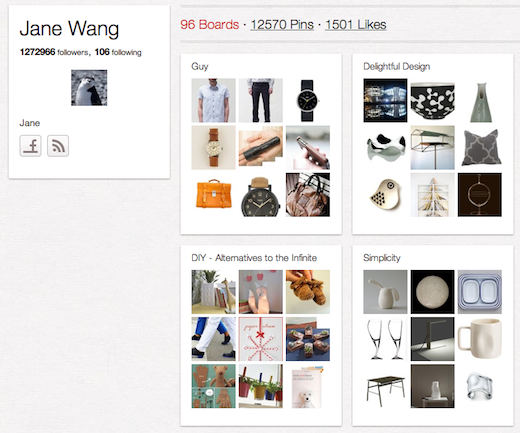 JaneWang 10 cool Pinterest accounts you should be following