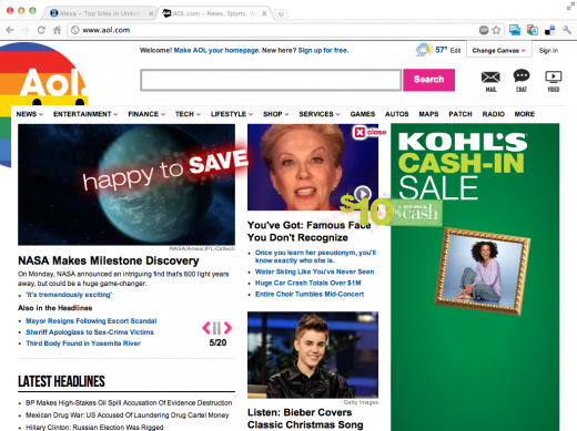 Screen Shot 2011 12 06 at 10.36.52 AM 520x389 Ads: The Death of User Experience on CNN, Forbes, Mashable
