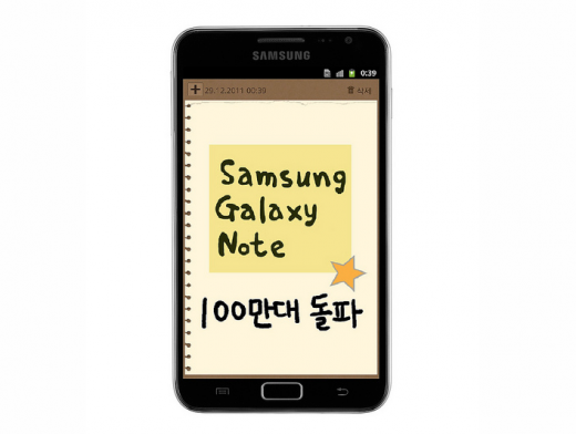 Screen Shot 2011 12 29 at 08.35.54 520x392 Samsung Galaxy Note surpasses 1 million shipments globally, US launch teased