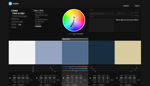 Screen Shot 2011 12 29 at 6.28.27 PM 520x300 9 places to get inspiration for your websites color palette