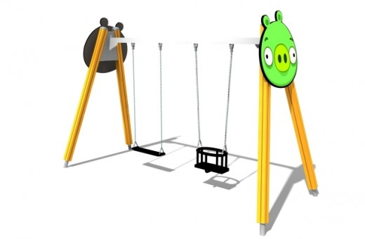 Swings2 520x340 Angry Birds activity parks set to launch in the UK