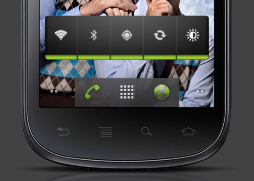 android 2.3 520x371 13 iPhone, Android and Nokia PSDs for killer mobile mockups