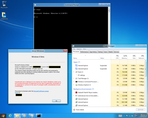build proof 520x416 New Windows 8 screenshots confirm Explorers ribbon