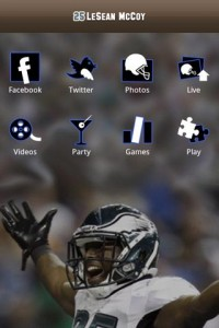 leseanapp 200x300 NFL Pro Bowl running back LeSean McCoy talks social media [exclusive]