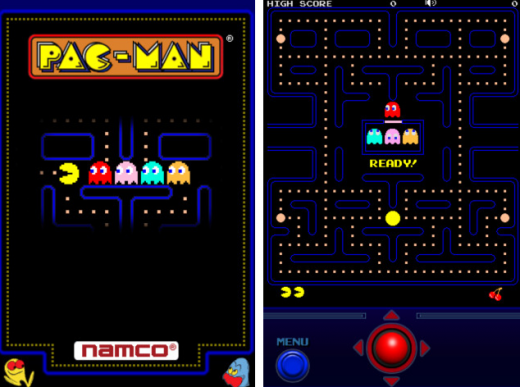 pacman 520x387 10 of the greatest vintage games ported to iOS