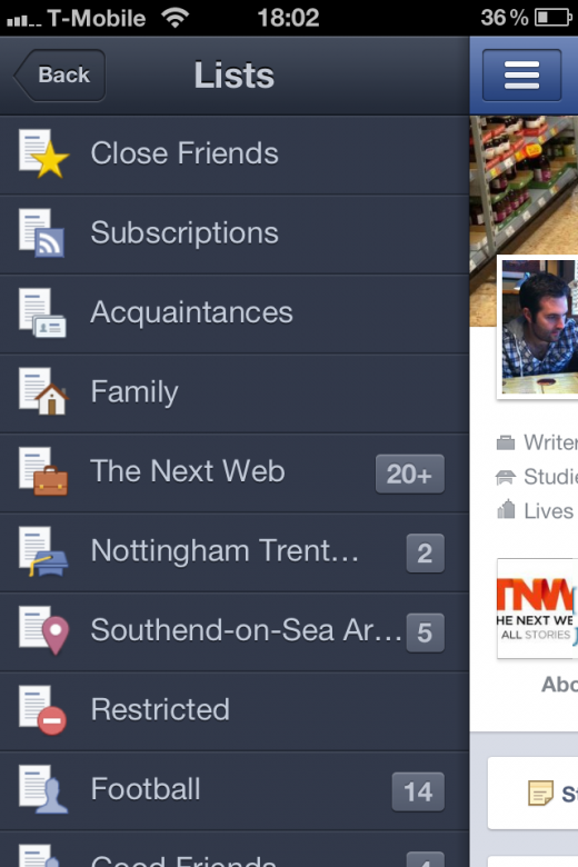 photo 210 520x780 Facebook updates its iPhone app; delivers Timeline, Friend Lists and more