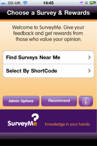 photo3 200x300 SurveyMes innovative customer survey app gives real time results and real time rewards