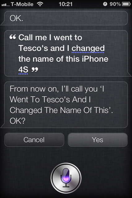 photo6 iPhone 4S gets offensive with 12 year old boy after pranksters tweak Siri