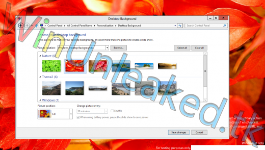 themews 520x294 The Windows 8 beta could leak earlier than previously anticipated
