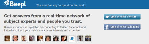 11 520x154 Beepl bats off Quora comparisons to launch its smart, social Q&A platform
