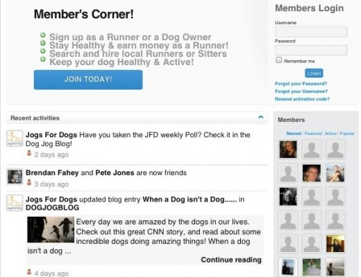 26 520x400 Jogs for Dogs: This social network helps recreational runners make money from mutts